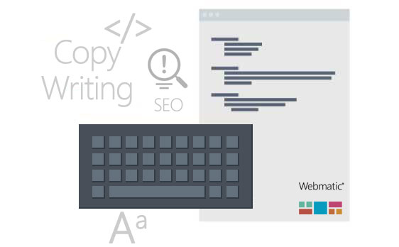 Services - Webmatic Website Website copywriting, SEO writing and Blog/Social media Ghost Writing