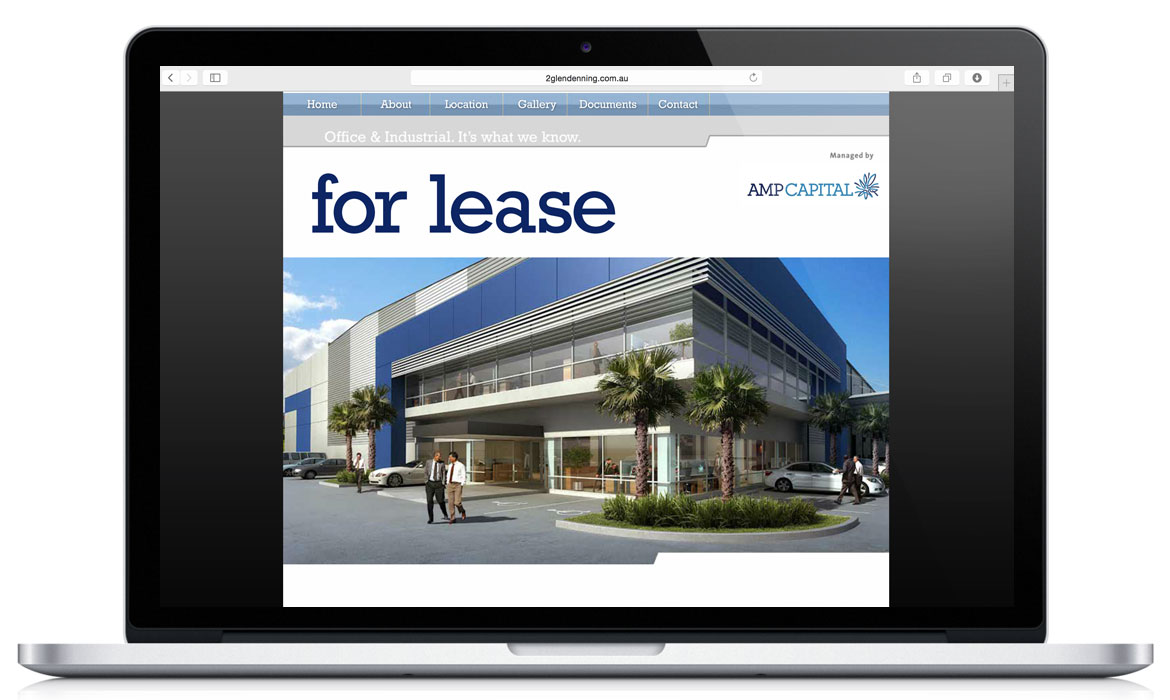 AMP Capital - Commercial leasing Website 2 Glendenning Ave