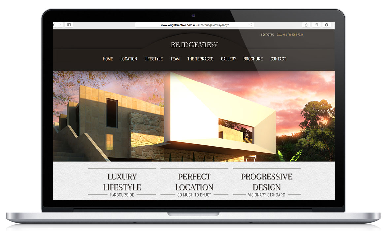 Bridgeview Sydney Responsive Designed Website