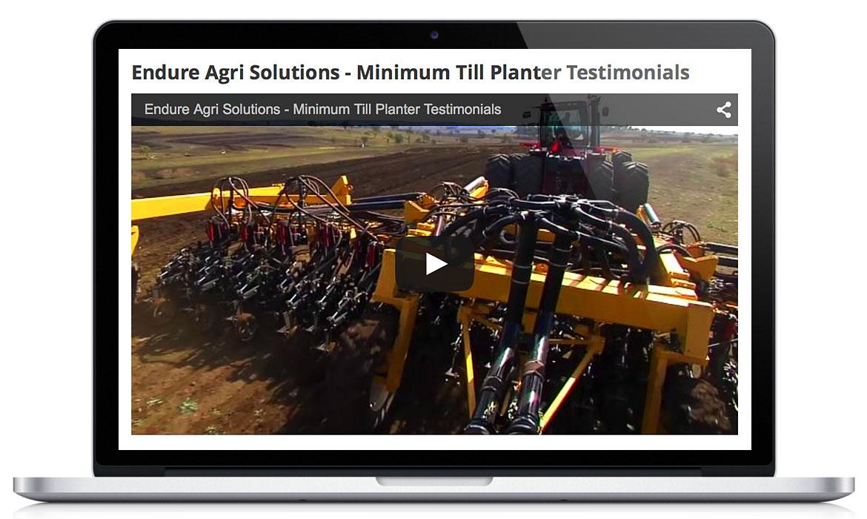 Endure Agri Responsive Designed Website Video (Editing)