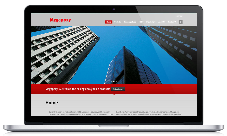 Megapoxy Responsive Web design