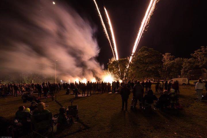WWBA Fireworks finale!