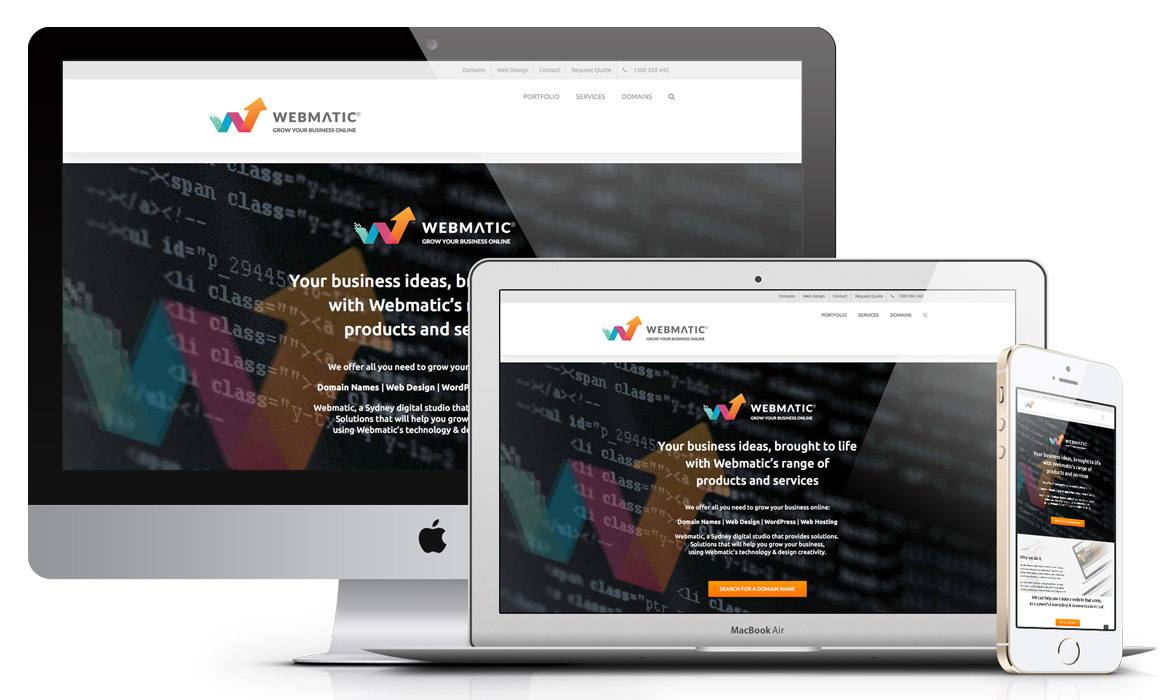 Webmatic Web design Sydney