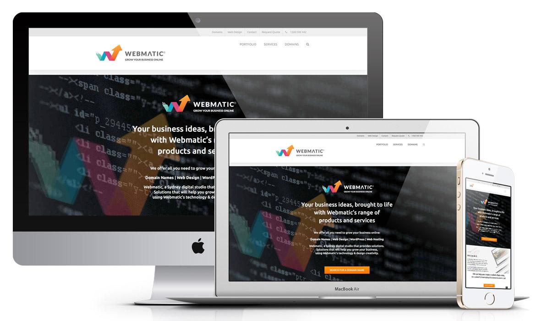 Webmatic Web design Sydney